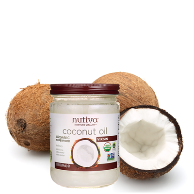 Coconut Oil, 14 oz.